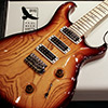 25th 限定 Swamp Ash Special Narrowfield Flame Maple Neck -Smokeburst-