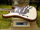 IHush Guitars STRATO EAGLE-Peal White top / Tobacco Brown back-
