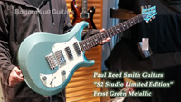 Paul Reed Smith(PRS) {BUG} 特別選定商談会 Hand Select S2 Studio Limited Frost Green Metallic ◆動画あり◆