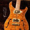 Paul Reed Smith(PRS) {BUG} Private Stock PS McCarty Semi-Hollow Double F-Hole with Purfling Around the Guitar