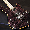 Suhr J Select Series Quilt Modern 2H 5way -Trans Black- サー 正規品