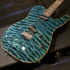 Tom Anderson Short Drop Top T -Arctic Blue with Binding-