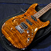 T's Guitars ST-Hollow Deluxe Rosewood Neck Tiger's Eye 当社特注ワンオフ品