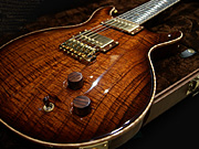 PS#24xx Santana II Koa Top Black Rosewood Neck - Vintage Natural Smokeburst -