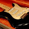 Fender Custom Shop '56 Stratocaster Relic -Black- (2013) / Gold Anodized & Gold HW